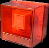 آژیر فلاشر اعلام حریق 12 و 24 ولت مدل AVX